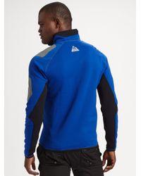 RLX Ralph Lauren | Blue Stretch Fleece Half-zip Pullover for Men | Lyst