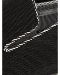 TOPMAN - Black Brick Slip On Loafers for Men - Lyst