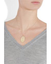 Brooke Gregson | Metallic Scorpio 14-karat Gold Diamond Necklace | Lyst
