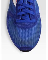 DIESEL - Red Long Term Gunner Sneakers for Men - Lyst