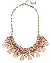 BaubleBar - Metallic Pastel Ziegfeld Necklace - Lyst