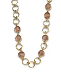 Kara Ross - Metallic Snakeskin Resin Imprint Necklace - Lyst