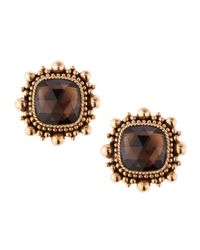 Stephen Dweck | Brown Smoky Quartz Crown Clip Earrings | Lyst