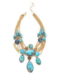 Alexis Bittar | Natural Cordova Chrysocolla Necklace | Lyst
