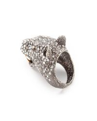 Alexis Bittar Metallic Jaguar Ring