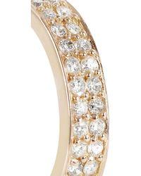 Anita Ko - Metallic 18karat Rose Gold Diamond Ear Cuff - Lyst