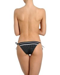 Charlie by Matthew Zink Black Bikini Bottoms