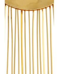 Eddie Borgo | Metallic Goldplated Fringe Collar Necklace | Lyst