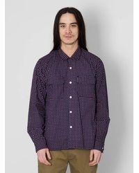 Engineered Garments Purple Classic Shirt for men