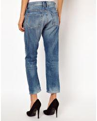 Goldsign Blue His Jean Boyfriend Jeans