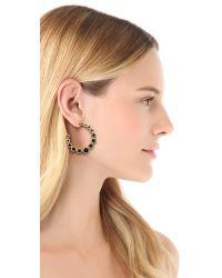 House of Harlow 1960 Metallic Olbers Paradox Hoop Earrings