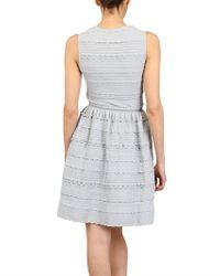 Antonino Valenti | Blue Viscose and Knit Dress | Lyst