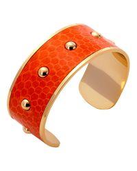 Aspinal - Metallic Athena Cuff Bracelet - Lyst