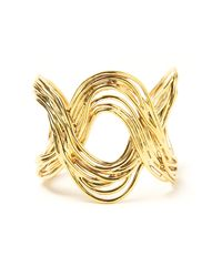 Aurelie Bidermann | Metallic Hermosa Beach Cuff | Lyst