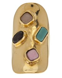 Aurelie Bidermann | Metallic Viracocha Ring | Lyst