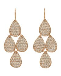 Irene Neuwirth | Metallic Four-drop Earrings | Lyst