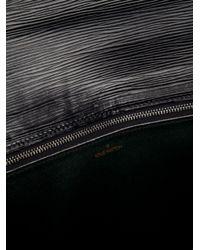 Louis Vuitton Black Geometric Clutch