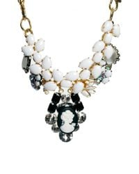 ASOS Collection - White Queen Cameo Necklace - Lyst