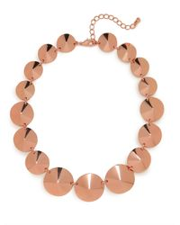 BaubleBar - Pink Rose Cone Strand - Lyst