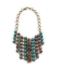 DANNIJO Multicolor Peeta Bib Necklace
