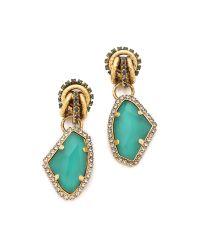Erickson Beamon | Metallic Garden Party Earrings | Lyst