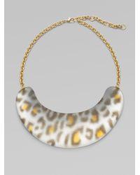 Alexis Bittar - Gray Zanzibar Spotted Necklace - Lyst