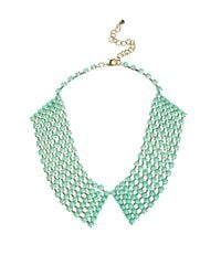 ASOS Collection Green Limited Edition Stone Collar Spike Necklace Pack