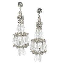 ASOS Collection Metallic Asos Ballroom Chandelier Earrings