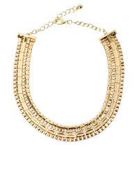 ASOS Collection | Metallic Asos Pharaoh Necklace | Lyst