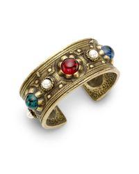 Ben-Amun | Multicolor Byzantine Cuff Braceletmulti | Lyst