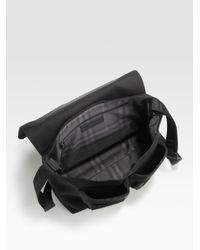 Burberry - Black Messenger Bag for Men - Lyst