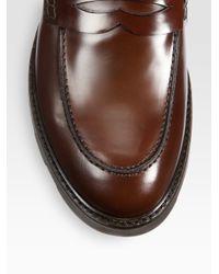 Fendi Brown Trafalgar Square Loafer for men