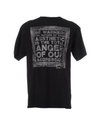 Freshjive Black Short Sleeve T-shirt for men