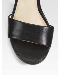 MICHAEL Michael Kors - Black Winsor Chain-strap Sandals - Lyst