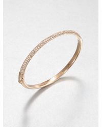 Michael Kors Metallic Sparkle Bracelet-rose