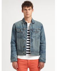 ebce084d897 Lyst - Rag   Bone Perfect Denim Jacket in Blue for Men