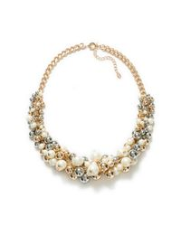 Zara | White Combination Pearl Necklace | Lyst
