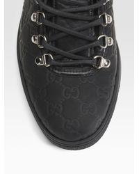 Gucci - Black Sneaker for Men - Lyst