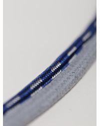 Lanvin Blue Mens Iphone Holder Necklace for men