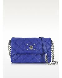 Marc Jacobs Green The Single Quilted Leather Bag