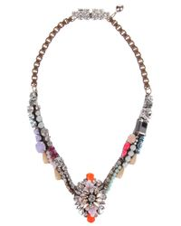 Shourouk | Metallic Tabatha Necklace | Lyst