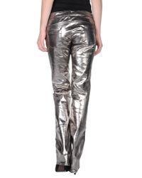 CoSTUME NATIONAL Metallic Denim Pants