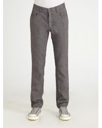 Converse | Gray Chuckin Herringbone Pants for Men | Lyst