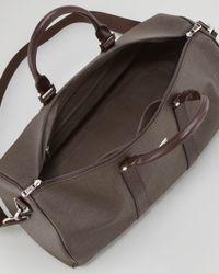 Ferragamo New Form Duffel Bag Brown for men
