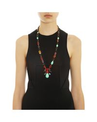 Irene Neuwirth Multicolor Multigemstone Link Necklace