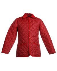 Lavenham Red Jacket for men