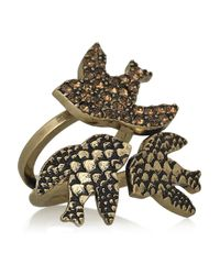 Marc By Marc Jacobs Metallic Petal To The Metal Tribe Ring