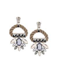 Moutoncollet - Metallic Earrings - Lyst