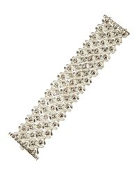 Stephen Webster | Metallic Threerow Flexible Bracelet | Lyst