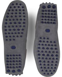 Ted Baker Gray Talpen Driving Shoes for men